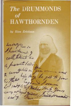 ERICKSON, RICA. - The Drummonds of Hawthornden.