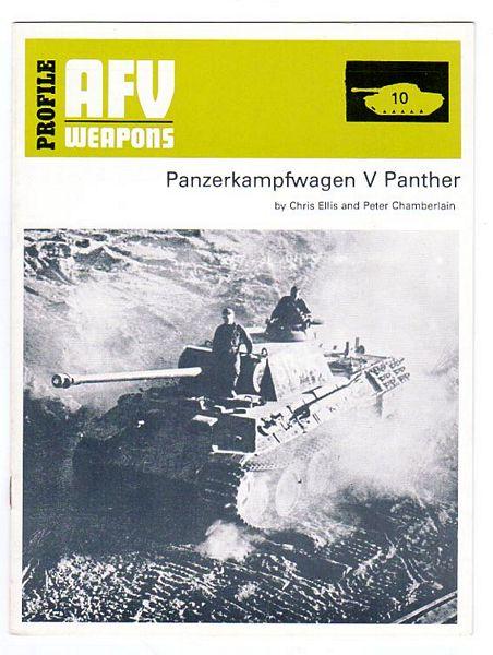 ELLIS, CHRIS; CHAMBERLAIN, PETER. - Panzerkampfwagen V Panther.